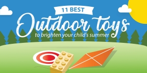 11 Best Outdoor Toys To Brighten Your Child's Summer