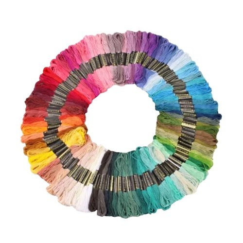 Embroidery thread cross stitch line sewing line 100 colors each color 8 meters
