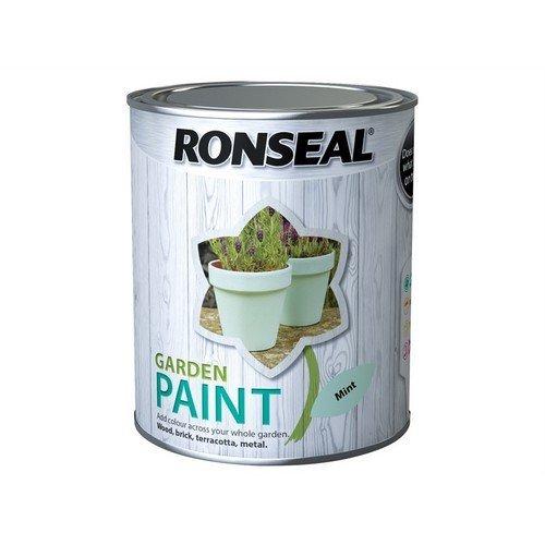 Ronseal 38267 Garden Paint Mint 750ml