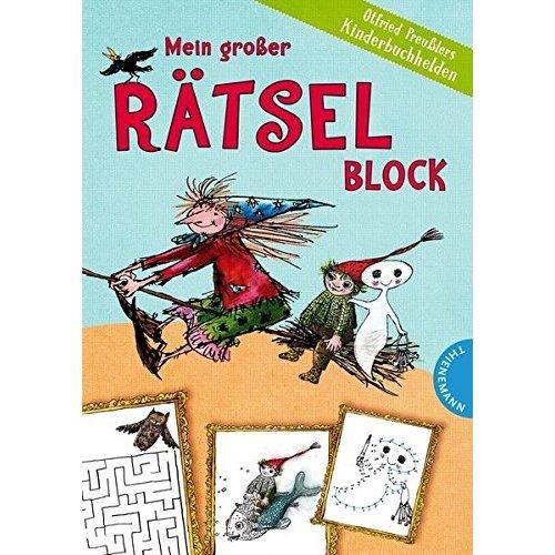 Mein großer Rätselblock - Otfried Preußlers Kinderbuchhelden