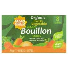 Marigold  Bouillon Cubes (Green) Yeast Free 8s x 12