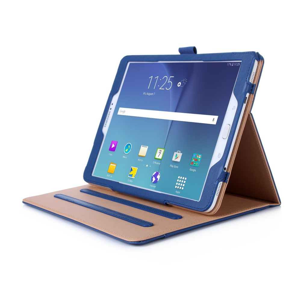 wholesale dealer 74a1a 72f68 ProCase Samsung Galaxy Tab S2 9.7 Case - Leather Stand Folio Case Cover for  Galaxy Tab S2 Tablet (9.7 Inch, SM-T810 T815 T813) - Navy