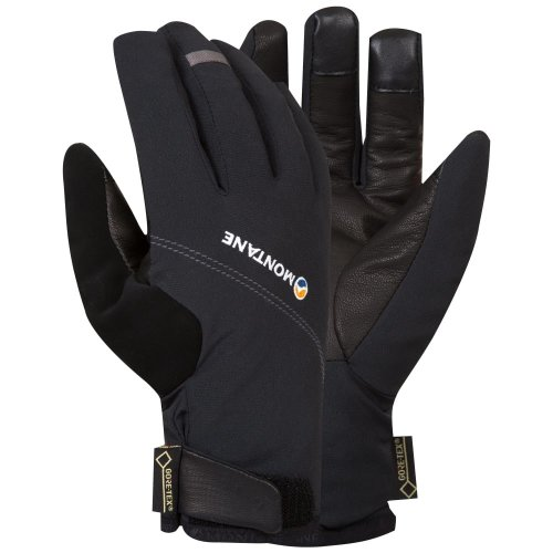 Montane Mens Tornado Glove Black (Small GORE-TEX)