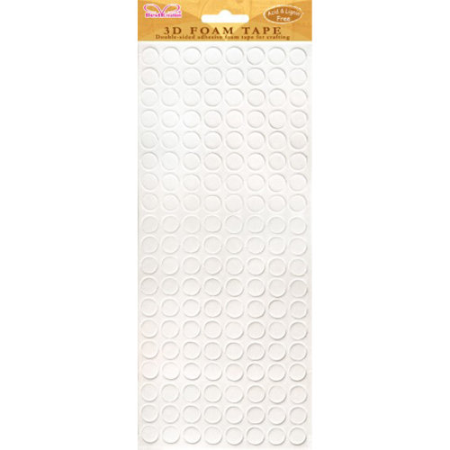 Best Creation Double-Sided Foam Tape-Big Circles