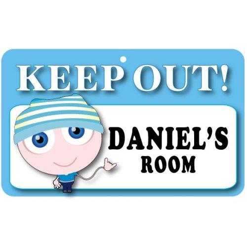 Keep Out Door Sign - Daniel's Room