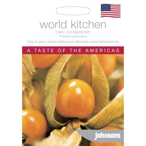 Johnsons World Kitchen Vegetable - Pictorial Pack - Cape Gooseberry - 100 Seeds