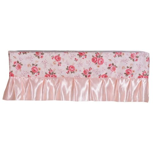 Floral Pattern Air Conditioner Dust Cover Protective Cover Room Decoration 1 piece (B)