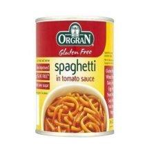 Orgran Gluten Free Spaghetti in Tomato Sauce 220g