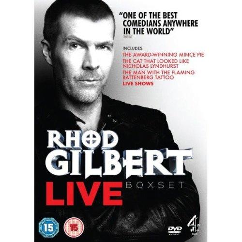 Rhod Gilbert Collection 1-3