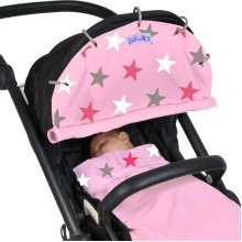 Pink Baby Dooky Shade Design With Pink Stars