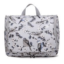 Miss Lulu Toiletry Travel Wash Makeup Cosmetic Bag Flower Bird Print