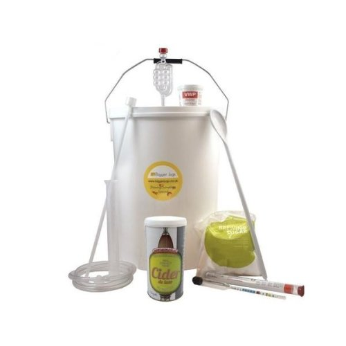 Starter Cider Making Set - Brewmaker Cider Deluxe 40 Pint Size with Equipment