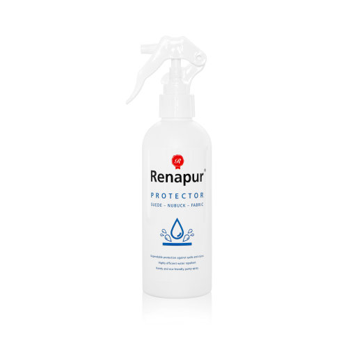 Renapur Suede & Fabric Protector 250ml - ECO FRIENDLY - For use on suede, nubuck, fabric & more