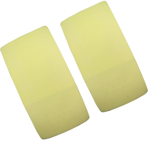 2x Cot Jersey Fitted Sheet 100% Cotton 120cm x 60cm Lemon Yellow