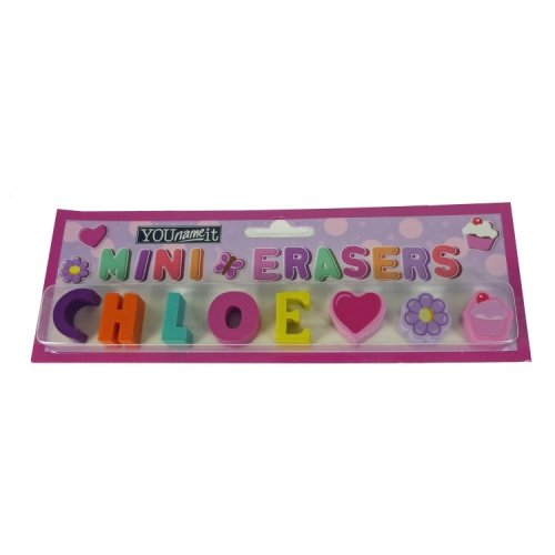 Childrens Mini Erasers - Chloe