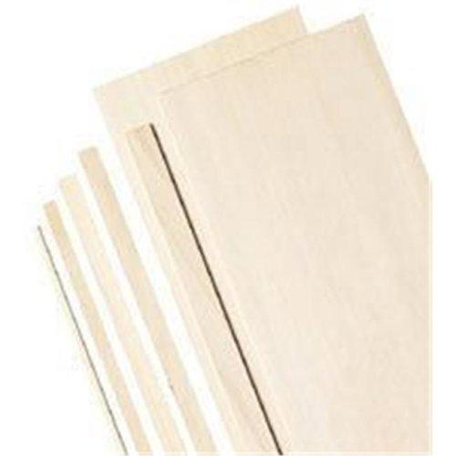 Alvin  Basswood Sheets 3-64x3 Pk-10