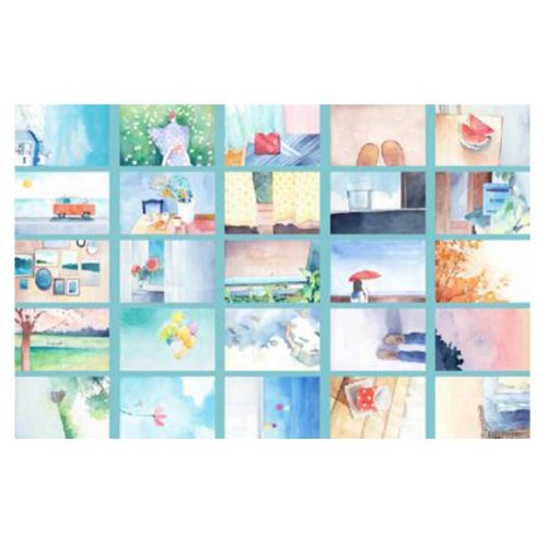 30PCS 1 Set Creative Postcards Artistic Beautiful Postcards, Like