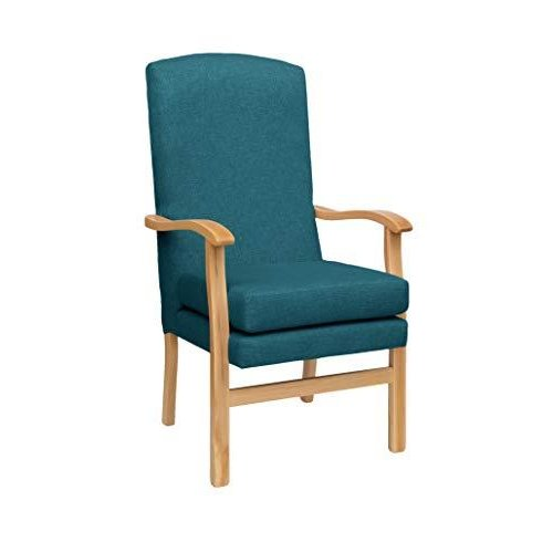 MAWCARE Deepdale Ortopaedic High Seat Chair - 21 x 20 Inches [Height x Width] in Highland Ocean (lc48-Deepdale_h)