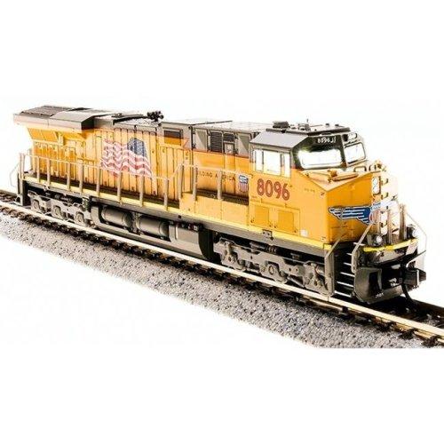 Broadway BLI3552 N Scale 3551 GE ES44AC Train, Union Pacific & Buliding America No.8104