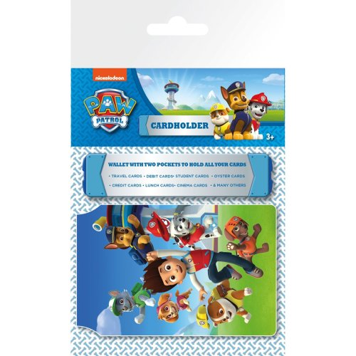 Paw Patrol Group Travel Pass Card Holder