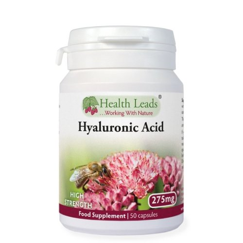 Hyaluronic Acid High Strength 275mg x 50 Caps (hyalurona n)