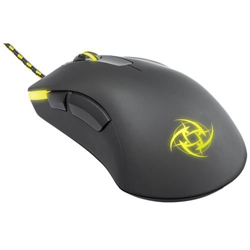 Xtrfy M1 Wired Optical Gaming Mouse - Ninjas in Pyjamas Edition, USB, 4000 DPI, Omron Switches, 5 Buttons, LED, Black