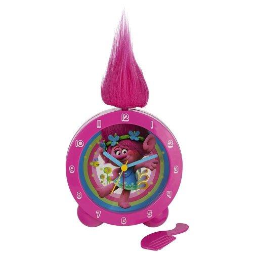 Trolls Movie Poppy Alarm Clock with Hair Topper