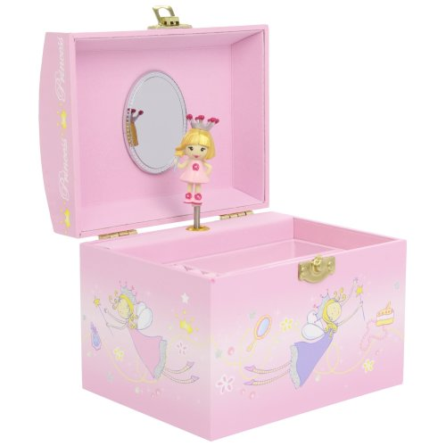 Trousselier Vanity Case with Music Princess Figure (Pink)