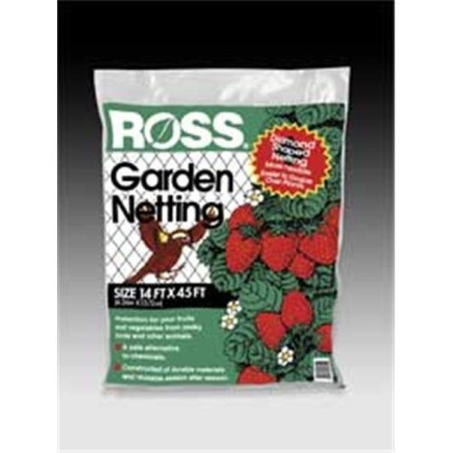 Easy Gardener Weatherly Consum Ross Garden Netting Black 14 X 45 Feet - 15720