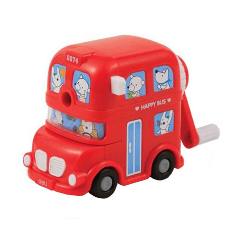 Kids Cute  Manual Pencil Sharpener For Classroom School Stationery?Red