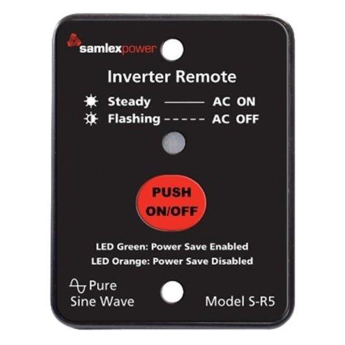 Samlex S-R5 Remote Control For Sa-1500-112 And Sa-1500-124 Inverter