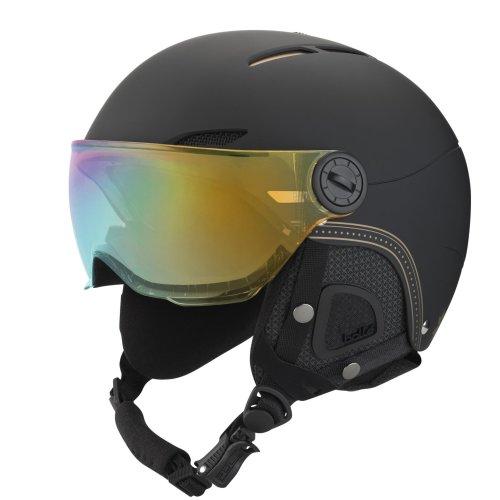 Bolle Juliet Visor Helmet - Soft Black / Gold