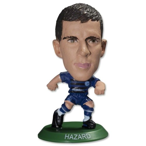 Chelsea Soccerstarz - Eden Hazard - Official Football Club Player Home Kit -  soccerstarz chelsea eden hazard official football club player home kit