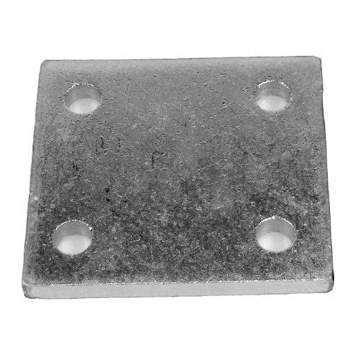"Drop Plate Zinc Plated 4"" - 4 Maypole 232 4in Hole -  drop plate 4 zinc plated maypole 232 4in hole"