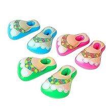Widmann 0513h-inflatable Beach Sandals-hawaii-3assorted Colours (no - -  beach inflatable sandals cm party sandals56 hawaii 3 colors