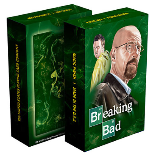 Breaking Bad Playing Card (Green)