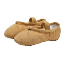 Durable Canvas Ballet Shoes Dance Shoes Soft Split Sole Classic Ballet Shoes for