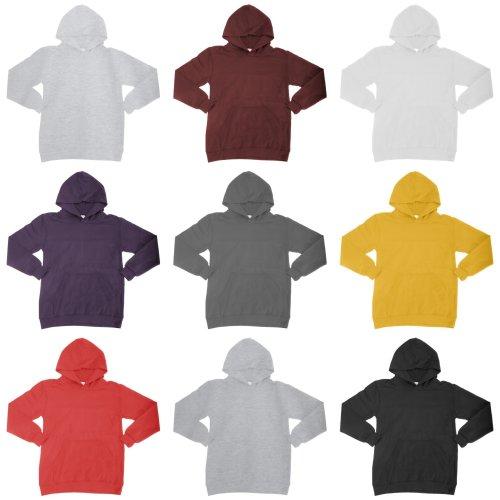 SG Kids Unisex Plain Hooded Sweatshirt Top / Hoodie