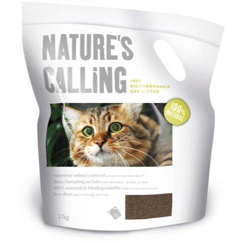Nature's Calling Katzenstreu biologisch abbaubar 2,7 kg