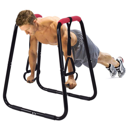 Dip Station Bar Stand Pull Up Parallel Bars Fitness