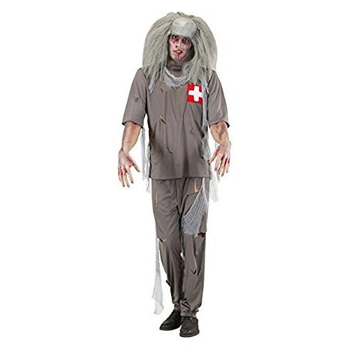 zombie doctor costume small for halloween living dead fancy dress mens coat mens zombie doctor coat pants doctorsnurses outfit grey