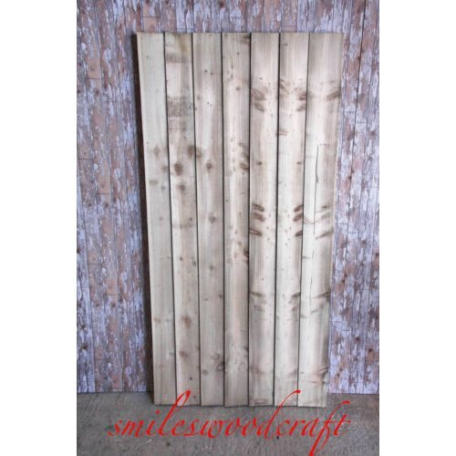 CLOSE BOARD FLAT TOP SINGLE GATE