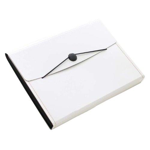 Non-portable Multilayer Student Paper Clip Plastic A4 Information Bag-W