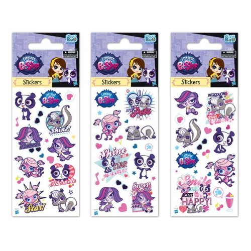 1 x Quality Sticker Sheets | LITTLEST PET SHOP | Party Bags & Decoration