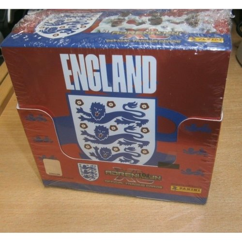 Panini Adrenalyn XL England 2018 Trading Cards (Full Sealed Box of 36 Packs)