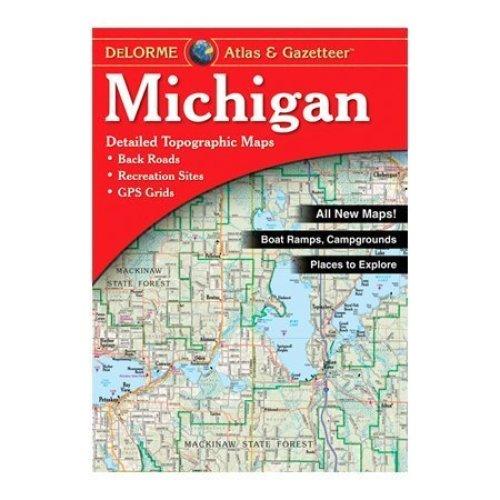 Delorme Michigan Atlas