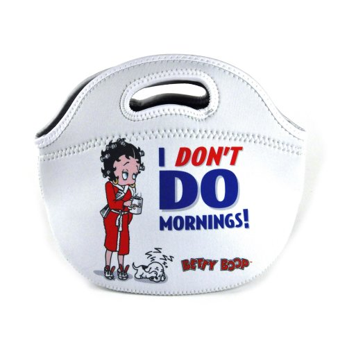 Betty Boop 'I Don't Do Mornings!' Neoprene Bag