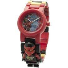 Lego Ninjago Sky Pirates Kai Minifigure Link Childrens Quartz Watch