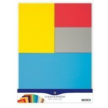 Pbx2471194 - Playbox - Coloured Paper (100gsm) 15 Colours, 195 Pcs,