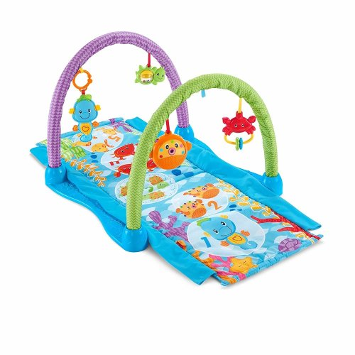 Fisher-Price Kick 'n Crawl Musical Seahorse Gym